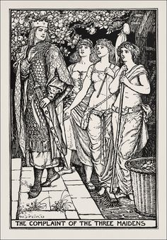 The Crimson Fairy Book, illustration by Henry Justice Ford