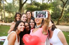 despedida de solteira / Bachelorette party selfie / девичник / junggesellinnenabschied / Lánybúcsú