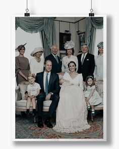 The Duke and Duchess of Cambridge have released four official photographs to mark the christening of Prince Louis on Monday 9th July.