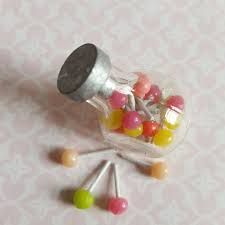 miniature clay candy