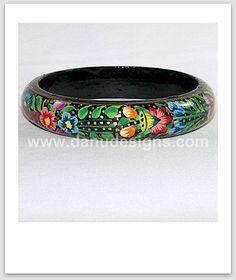 Paper Mache Kashmiri Bangle | por Danu Designs Jewellery