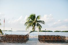 Florida Keys wedding ceremony at Pierre's, photo by kallimaphotography.com