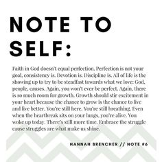 Note 6 has something for you Quotable Quotes, Me Quotes, Motivational Quotes, Funny Quotes, Because He Lives, Dear Self, Positive Inspiration, Pep Talks, Dear Future