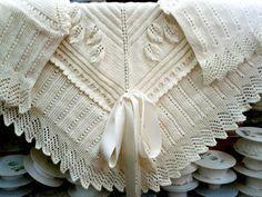 Precioso mantón para bebé