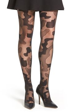 Pretty Polly Camouflage Tights available at #Nordstrom
