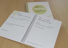 DIN A5 - Tagebuch 'Mein Schwangerschaftstagebuch' - DIN A5 - ein Designerstück von kartenfreuden bei DaWanda