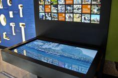 Dinosaur Hall Multi-Touch Screen