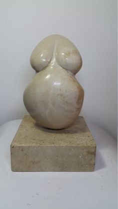 Hand Made Stone Sculpture Contemporary Abstract Modern granite Sea Beach Stone - NUDE by Aydın KAYIR by SilverStoneArtShop on Etsy Stone Sculpture, Contemporary Sculpture, Beach Stones, Silver Diamonds, Wooden Boxes, Granite, My Etsy Shop, Abstract, Modern
