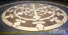 Wooden flooring Berti for ship