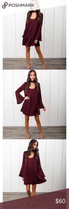 ✨ Keyhole Long Sleeve Dress ✨ VICI DOLLS KEYHOLE LONG SLEEVE DRESS Dresses