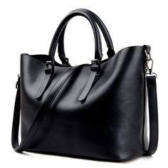 Bolso Mujer Negro 2016 Fashion Hobos Women Bag Ladies Brand Leather Handbags Spring Casual Tote Bag Big Shoulder Bags For Woman