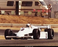 Tom Sneva - March 81C Cosworth - Bignotti-Cotter Racing - 1981 Tests - Unknown Track