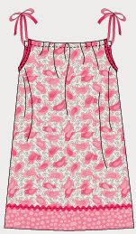 Artes com Capricho: Vestido fronha para as meninas