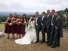 Flowers for the whole bridal party... by Emma Hall Designs