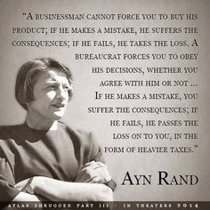 Ayn Rand Quote On Bureaucracy or political abuse(politicians) JP/