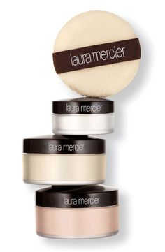 Laura Mercier Set & Glow Trio contains both the Secret Brightening Powder and the Translucent Setting Powder that I love!