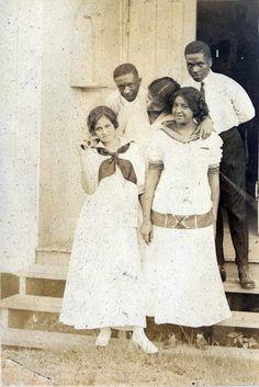 After Sunday School Class :: Fisk University, 1910 [Fisk University Album] ©WaheedPhotoArchive, 2011