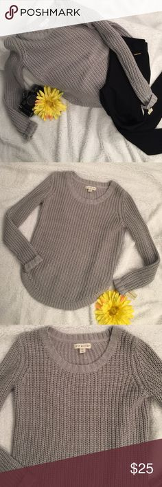 Your Favorite Sweater Stunning sparkling sweater❤️. Love the feel and comfort of this perfect fitting sweater so much you will want to sleep in it😊. Check out the shape at the bottom🤗. Definitely a MUST HAVE💫. BNWT Sweaters Crew & Scoop Necks
