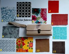 This listing is for custom wallet with construction type #1. It is a great solution for all your gadgets in one place: phone, cards, money, ear buds...  Please let me know the size of your phone and I will make the pocket big enough to accommodate it. So, you can be a DESIGNER yourself and I will be the maker. You choose the exterior fabrics by giving me the fabric number during the check out. Grey canvas is standard for the interior lining. If you want some other interesting color - leave…