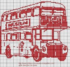bus anglais grille