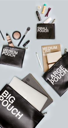 My friend uses the Large Pouch to bring her pens & notes to school, but on weekends, the pouch becomes her stylish clutch bag! For me, it's the perfect travel mate! When it gets dirty during vacation oopsies, all I need to do is wipe off the dirt with a wet tissue! I love that it's so easy to clean! The spacious compartment is so great for holding all your daily things like headphones, feminine products, cosmetics, & makeup! How would you use this versatile pouch? ^_^ Share your ideas with…