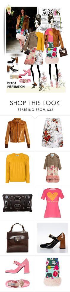 """November 16,2017"" by anny951 ❤ liked on Polyvore featuring Prada, Lela Rose and Agatha Ruiz de la Prada"