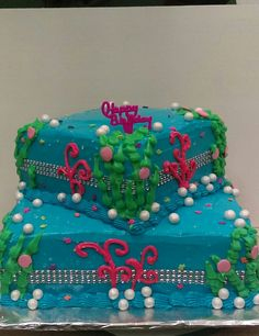 Little Mermaid theme cake