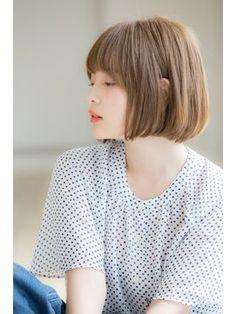 【Euphoria】簡単スタイリング☆ナチュラルボブ☆大人かわいい - 24時間いつでもWEB予約OK!ヘアスタイル10万点以上掲載!お気に入りの髪型、人気のヘアスタイルを探すならKirei Style[キレイスタイル]で。