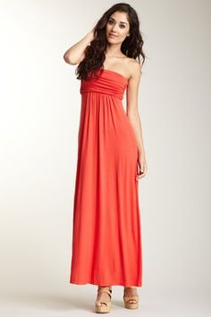 You know you're part goddess when you can actually pull of a maxi casually and look legit..