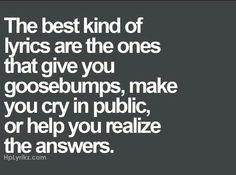 Music #lyrics #feelings #answers