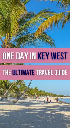 Wondering what you could do if you only had 24 hours in Key West, Florida? If you're ready to check the best things to do in just one day in Key West, this ultimate Key West travel guide is what you need. Things to Do in Key West Florida | What to Do in Key West Travel Guide | 24 hours in Key West Florida Keys | One Day in Key West Top Travel Destinations, Travel Usa, Canada Travel, West Florida, Florida Keys, Florida Travel Guide, North America, Central America, Travel Guides