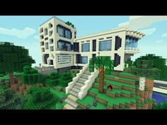 Minecraft: Casa Moderna Para Survival! / Modern House Minecraft