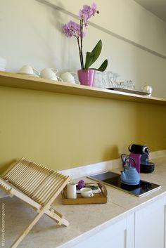 Kitchenette in Maisonette apartments Kitchenette, Bath Caddy, Apartments, Shelves, The Originals, Diy, Home Decor, Shelving, Decoration Home