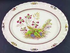 "Spode ROSALIE 15"" Oval Serving Platter 685648"