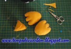 T E M P O D E V I V E R B E M: PINGUIM EM TECIDO / FELTRO Penguin, Hand Stitching, Tejidos, Molde, Felting, Noel