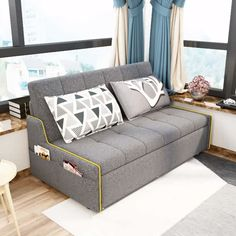 Home Decor Video Small Bedroom Sleeping Sofa Bed Small Room Furniture, Sofa Bed For Small Spaces, Modern Bedroom Furniture, Sofa Furniture, Beds For Small Bedrooms, Coaster Furniture, Sofa Cumbed Design, Living Room Sofa Design, Sofa Set Designs
