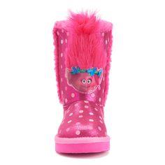 DreamWorks Trolls Poppy Toddlers' Plush Boots