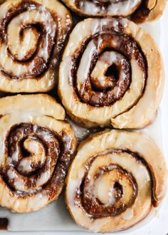 No one can guess that these cinnamon rolls are dairy free AND gluten ...