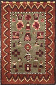 AKAA ommellen 130 x 190cm Wool Rug, Bohemian Rug, Carpet, Blanket, Rugs, Home Decor, Farmhouse Rugs, Decoration Home, Room Decor