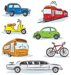 Land Transport For Kids Clipart - Transportation Activities, Little Einsteins, Side Bags, Mode Of Transport, Kate Spade Handbags, Preschool Activities, Preschool Learning, Art Wall Kids, Toddler Crafts