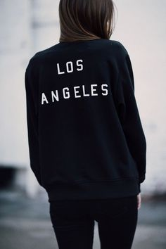 Brandy ♥ Melville | Elana Los Angeles Bomber Jacket - Outerwear - Clothing