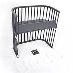 babybay Bedside Sleeper (Modern Slate Gray Finish) - Works as you would expect.This babybay that is ranked 28676 in the list of the top-selling products from Am Bedside Co Sleeper, Co Sleeper Crib, Neutral Baby Colors, Best Co Sleeper, Portable Baby Cribs, Best Double Stroller, Nursery Furniture Sets, Kids Table And Chairs, Kids Bunk Beds
