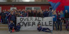 Bilder: Supportermønstring på Vålerengatrening