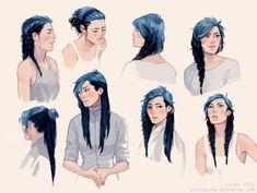 rock the braids by littleulvar