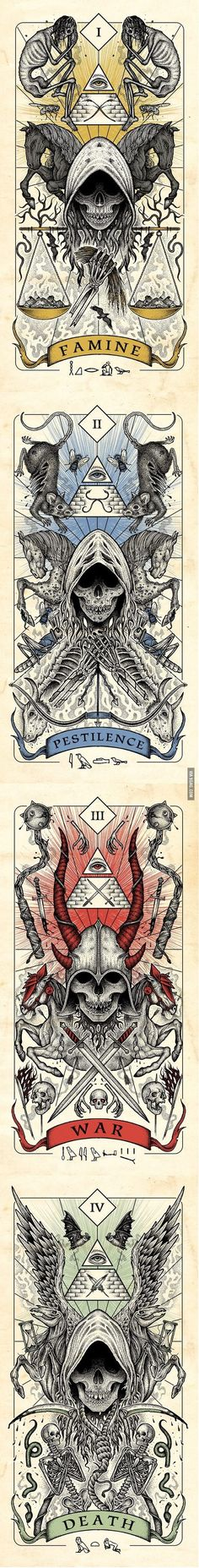Four Horsemen of the Apocalypse... - 9GAG                                                                                                                                                                                 More