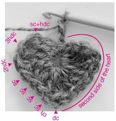 marie's making: Valentines Heart Crochet Tutorial