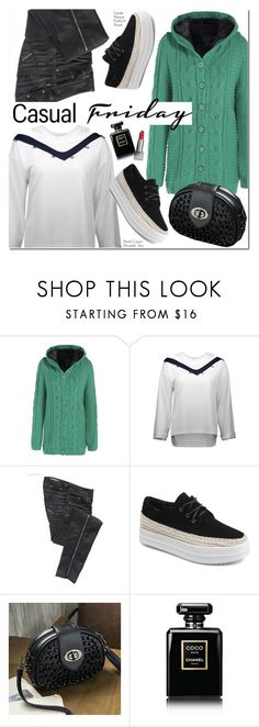 """Casual"" by oshint ❤ liked on Polyvore featuring Parasuco, Chanel and Burberry"
