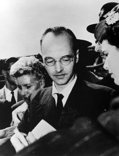 Klaus Fuchs was a German-British theoretical physicist and atomic spy who in 1950 was convicted of supplying information from the American, British and Canadian atomic bomb research (the Manhattan Project) to the USSR during and shortly after World War II. While at the Los Alamos National Laboratory, Fuchs was responsible for many significant theoretical calculations relating to the first fission weapons and later, the early models of the hydrogen bomb, the first fusion weapon.