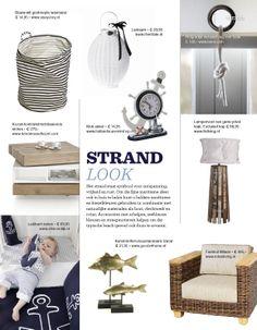 Trend Strand look  http://www.woonstijl.nl/woontrends/strand-look_38/
