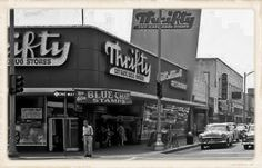 Thrifty Drug Stores are no longer part of the Southern California landscape, but the ice cream still is. Thrifty Ice Cream, a beloved El Mo. California History, Vintage California, Southern California, Lakewood California, Thrifty Ice Cream, Las Vegas, Cities, San Fernando Valley, Best Ice Cream